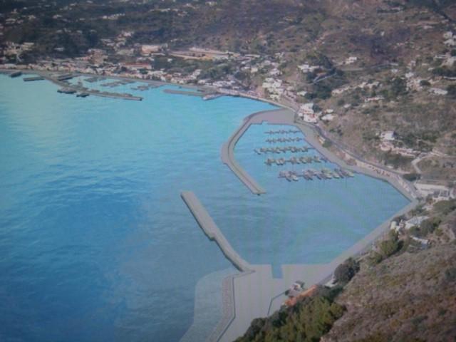 Risultati immagini per lipari il nuovo progetto del porto turistico di pignataro