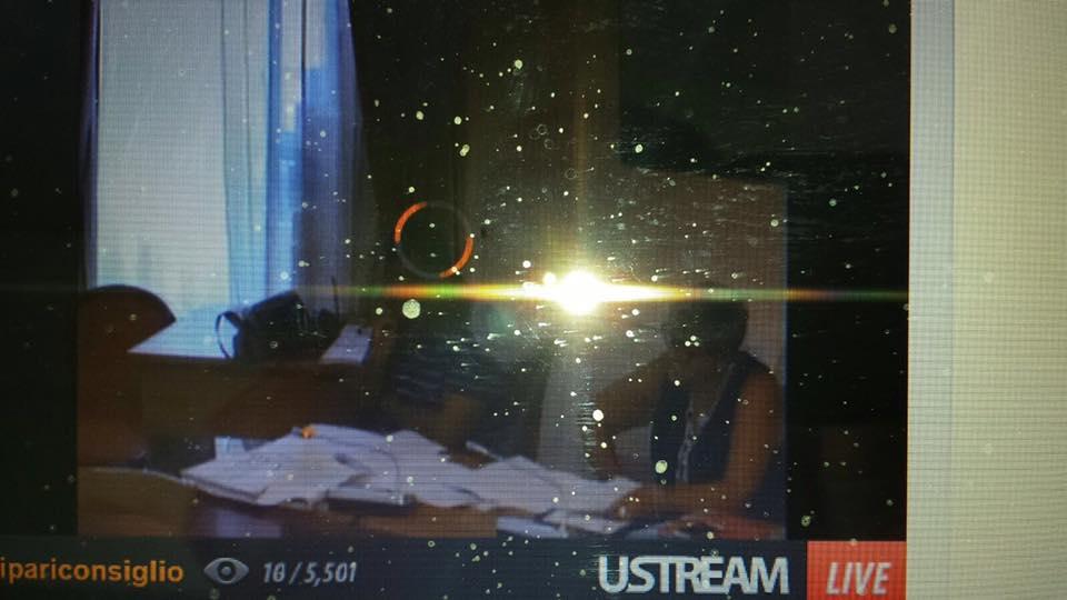 Lipari&Comune, la diretta 'Streaming' che va e viene...