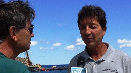 LE NOTIZIE DEL NOSTRO GIORNALE ONLINE FANNO IL GIRO D'ITALIA. LE INTERVISTE DE 'IL NOTIZIARIO'. Eolie, l'Ingv studia il fenomeno dell'innalzamento del mare... Le prime verifiche: 'il mare sale le isole scendono...'